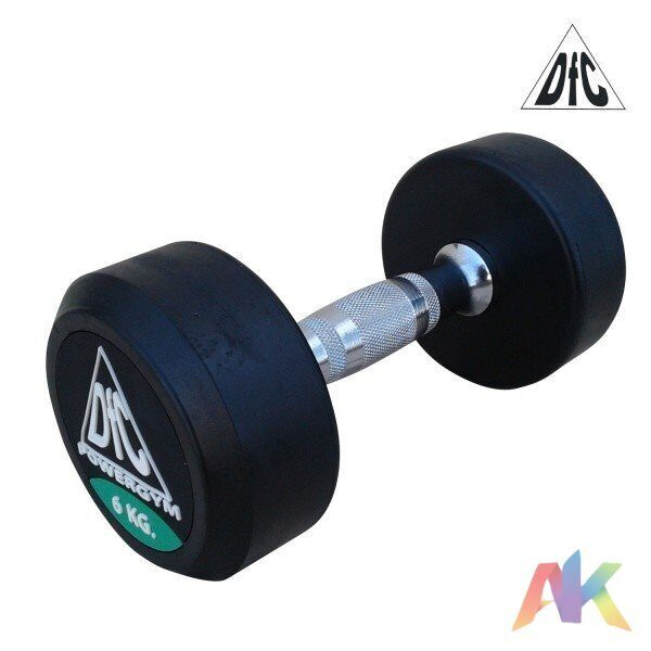 Гантели обрезиненные DFC Powergym DB002-6 6кг