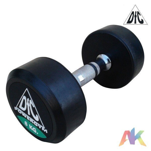 Гантели обрезиненные DFC Powergym DB002-8 8кг